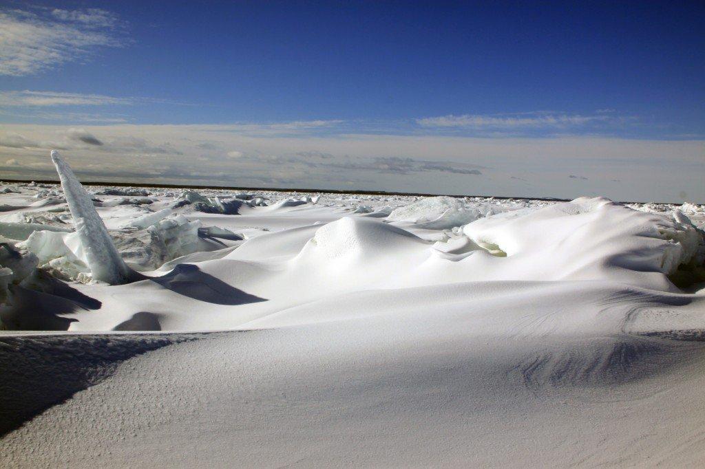 Финский залив. По нулям. И такое бывает!