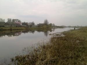 реке Нёман Деревня Свержень