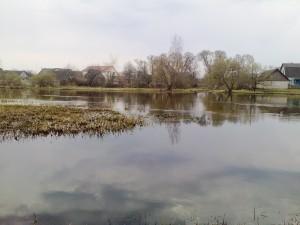 Река Нёман Деревня Свержень
