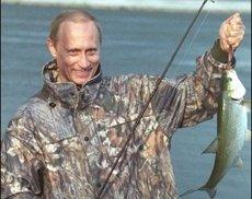 Путин раскрыл американцам секреты рыбалки в России