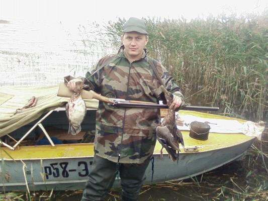 Охота на уток озеро Кубенское в Вологодской области