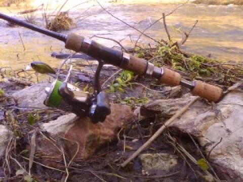 Первый весенний выезд с The ONE 0.5-5, или обследуем малую речку на предмет рыбы.