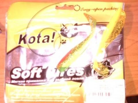 Резина марки Кota ! серии Leech и ассорти Trapper и Swimmer