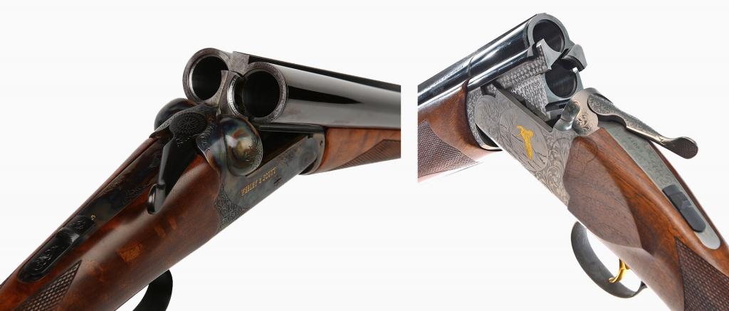 Горизонталка или вертикалка ружья фото